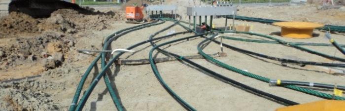 Sloop en nieuwbouw tankstation Drongen